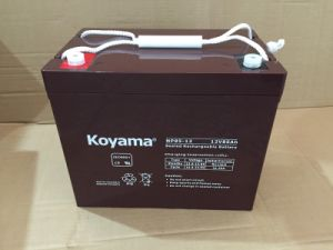 12V Power Supply Battery Backup12V85ah UPS Battery pictures & photos