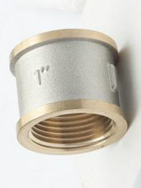 1′′ Selling Nickel Plated Brass Fittings pictures & photos