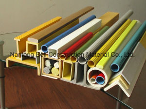 FRP/GRP Fiberglass Reinforced Plastic Rectangular Tube/Pultrusion Shapes pictures & photos