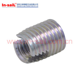 Metal Self Tapping Threaded Insert of Motorcycle Part pictures & photos