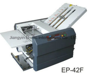 Popular Sale Products A3 Paper Folder Machine Ep-42f pictures & photos