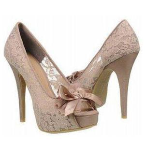 Famous Footwear Outlet Women Pumps Women High Heel Shoes pictures & photos
