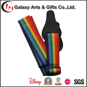 Fashion Style Rainbow Guitar Strap Guitar Shoulder Strap for Musical Instrument Accessories pictures & photos