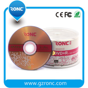 Single Layer Printed Logo Blank DVD-R 16X 4.7GB 120min pictures & photos