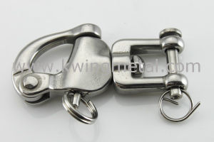 Stainless Steel Jaw Swivel Snap Shackle pictures & photos