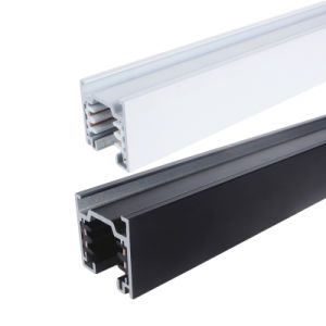 Aluminum Lighting Track 4 Wires Square Track Rail (XR-L510) pictures & photos