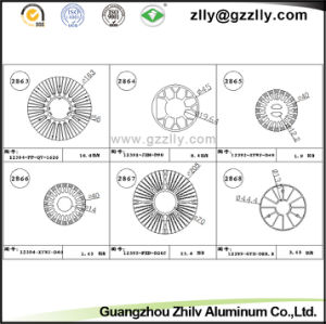 Guangdong Zhilv CNC Machining Aluminum Profile Radiator pictures & photos