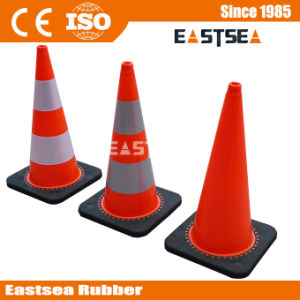 Road Australia Standard Reflective PVC Plastic Traffic Cone pictures & photos