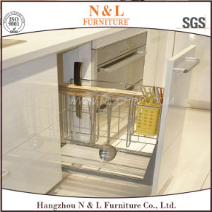 N & L Audited China Supplier Wood Kitchen Furniture Kitchen Cupboard pictures & photos