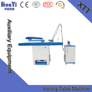 Automatic Commercial Laundry Press Machine for Steam Ironing Table pictures & photos