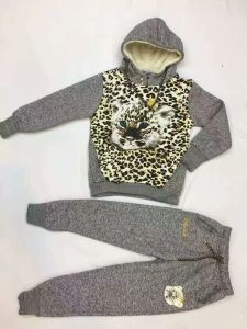 Fashion Children Sport Wear with Tiger in Children Clothes Suits Sq-17122 pictures & photos