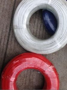 Silicone Rubber Electric Wire with Fiberglass Braided pictures & photos