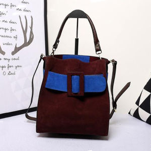 Color Collision Designer Handbags Trendy Brand Leather Women Tote Bag Emg4852 pictures & photos