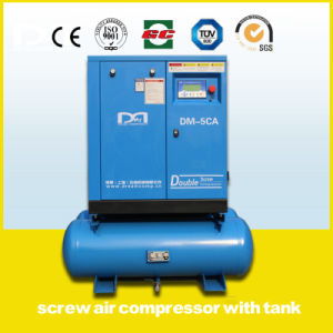 Oil Injected Electric Industrial Screw Rotary Air Compressor Made in China pictures & photos