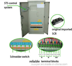 32A 380VAC 3pole Static Transfer Switch for UPS pictures & photos