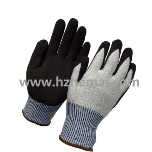 18g Ultra Thin Nitrile Coated Cut Resistant Safety Gloves pictures & photos