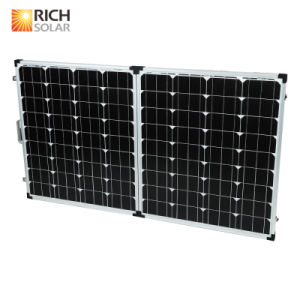 160W 12V Folding Solar Panel for Home Use pictures & photos