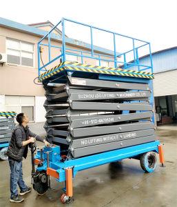 500kg 16m Hydraulic Aerial Work Platform (SJZ0.5-16) pictures & photos