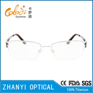 Latest Design Beta Titanium Eyeglass Eyewear Optical Glasses Frame (8305) pictures & photos