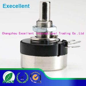 20mm Shaft Diameter 6mm 2W Power Rotary Potentiometer
