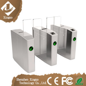 Waterproof Access Control Fingerprint Sliding Turnstile Barrier pictures & photos