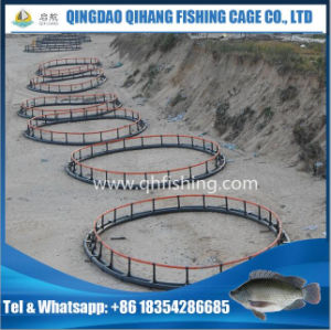 Offshore Fish Farming Cage with HDPE Floating Pipe pictures & photos
