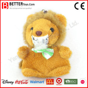 Supply Cheap Stuffed Plush Animal Lion Keyrings pictures & photos