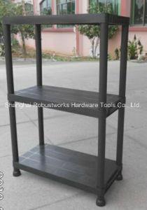 2 Tiers Plastic Storage Shelf (6030P-2T) pictures & photos