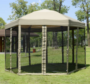 1.8mx1.8mx1.8m Steel 6 Edge Shape Folding Gazebo