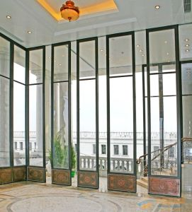 Ultra-High Framed Glass Partition Walls for Hotel/Shopping Mall pictures & photos