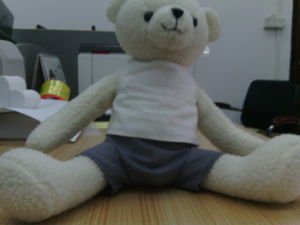 High Quality Stuffed Sitting Bear