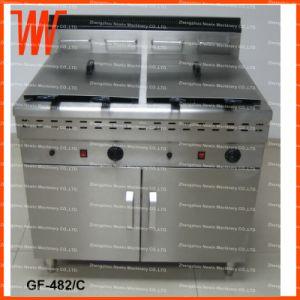 48L+48L Commercial Deep Gas Chip Fryer for Sale pictures & photos
