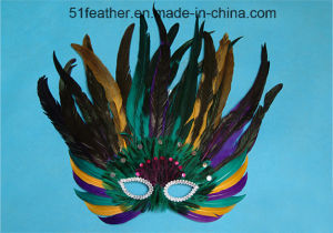 Halloween Party Persoanl Decoration Feather Mask pictures & photos