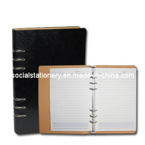 Ruled Notebook-Ring-Hard Cover-Medium (TNT01008)