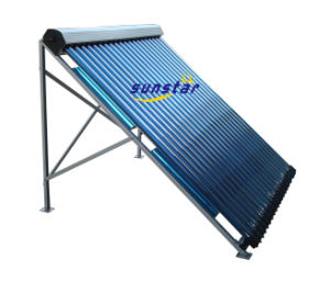 Heat Pipe Cooper Manifold Solar Collector-Solar Keymark pictures & photos