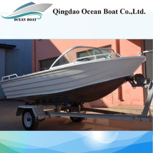 4.2m Runabouts Aluminum Material Fishing Boat with Ce pictures & photos