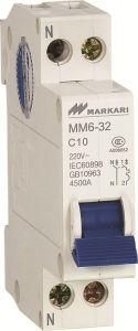 1p MCB Circuit Breaker mm6-32 Dz47 Type pictures & photos