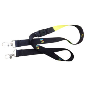 Promotion Lanyard for Special Passes 2 Metallic Hooks pictures & photos