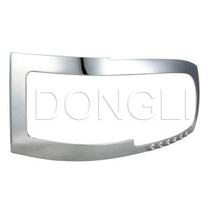 Chrome Headlight Cover (DL-040)