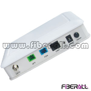 Dual Fiber Gpon Ont with 1 Pon One 10/100m Port 1 WLAN Port and 1 CATV Port pictures & photos