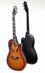 Guitar with Plastic Back