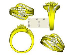 CAD Jewelry Model, Jewelry 3D Model, Jewelry 3D File (WDMR-0903)