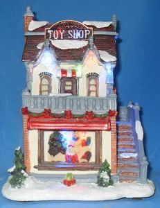 "8""LED Houses""Toy Shop"".  (11013A)"