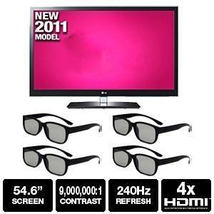 """55"""" Class Widescreen 3D LED HDTV 55LW6500"""