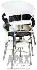 Snack Bar Chair (AS1060AR) Restaurant Chair Cafe Furniture Wicker Chair pictures & photos