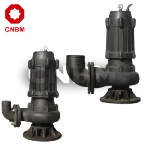 Auto-Stirring Sewage Submersible Pump (WQ Series) pictures & photos