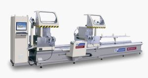 Double-Head Cutting Saw CNC for Aluminum Window & Door pictures & photos