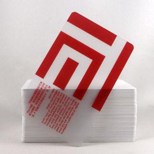 Transparent Business card, Name Card (F-5-001)