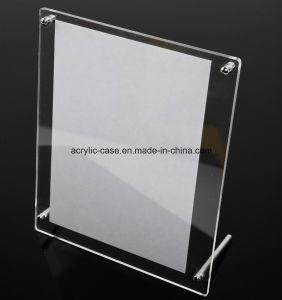 Acrylic Photo Frame Crystal Photo Frame Pop Menu Stand