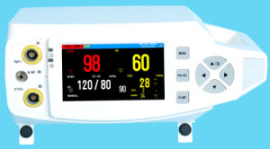Po80A SpO2 Pulse Reate Tabletop Pulse Oximeter pictures & photos
